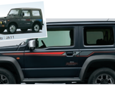 Jimny Sierra - JB74W - Side Decals - Revival B (Left and Right Set) - Category: Exterior - 99230-78R00-002