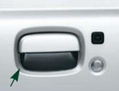 Jimny Sierra - JB74W - Door Handle Escutcheon - (L&R) - Category: Exterior - Colour: Carbon Look - 99126-77R00