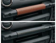 Jimny Sierra - JB74W - Genuine Leather Passenger Assist Grip - Category: Interior - Colour: Black w/ Yellow Stitching - 9914R-77R20-002