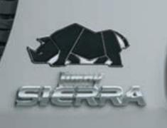 Jimny Sierra - JB74W - Rear Emblem - Rino - Category: Exterior - 9923A-77R10