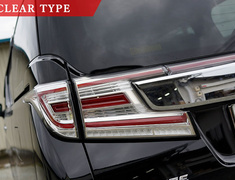Alphard/Vellfire - AGH35W - Color: Black - Color: Clear - Color: Red Clear - Color: Smoke - J201
