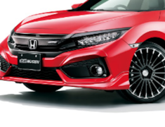 Civic - FK7 - Front Under Spoiler - Construction: ABS - Colour: Brilliant Sporty Blue Metallic (BT) - Colour: Crystal Black Pearl (CB) - Colour: Flame Red (FR) - Colour: Lunar Silver Metallic (RN) - Colour: White Orchid Pearl (WO) - 71110-XNCD-K0S0-##
