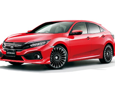 Civic - FK7 - Styling Set (3P): Front Under Spoiler + Side Spoilers + Rear Under Spoiler - Construction: ABS - Colour: Brilliant Sporty Blue Metallic (BT) - Colour: Crystal Black Pearl (CB) - Colour: Flame Red (FR) - Colour: Lunar Silver Metallic (RN) - Colour: White Orchid Pearl (WO) - 61000-XNCD-K0S0-##