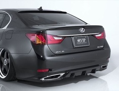GS250 - GRL11 - Rear Bumper - Construction: FRP - Colour: Unpainted - AIMPVIP-GSE-RB