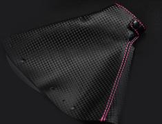 Silvia - S15 - Colour: Black / Pink - Badge: 6MT - Thread: M12 x 1.25 - YF-S15-SKSBS