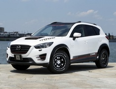 CX-5 - KE2AW - Material: FRP - Type: Front and Rear - Color: Black Fender Edge Rubber - Color: Grey Fender Edge Rubber - KD-EX06002