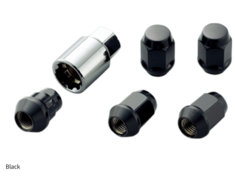 Honda - 16 + 4 Locks - Colour: Black - Thread: M12 x P1.5 - 08181-MZ3-K0S0-BL
