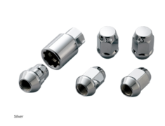Honda - 16 + 4 Locks - Colour: Silver - Thread: M12 x P1.5 - 08181-MZ3-K0S0-S