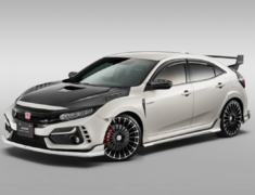 Civic Type R - FK8 - Styling Set (3P): Front Under Spoiler + Side Garnish + Rear Under Spoiler - Construction: PPE - Colour: Championship White (CW) - Colour: Crystal Black Pearl (CB) - Colour: Flame Red (FR) - 61000-XNCF-K1S0-##