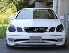 Aristo - JZS160 - Front Lip Spoiler - Construction: Carbon - Colour: Black - Colour: Silver - FK-ZERO-16#-FLS