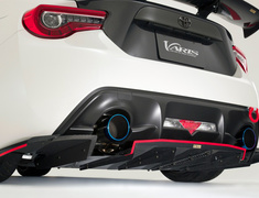 86 - ZN6 - Rear Diffuser for Normal Bumper - Construction: Carbon - VATO-102