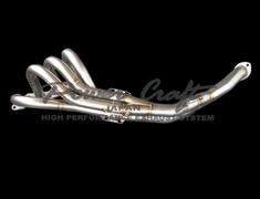 Corolla Levin - AE86 - Design: 4-2-1 - Diameter: 42.7mm-50.8mm-60.5mm - Material: SUS#442~304 - P-TO010204