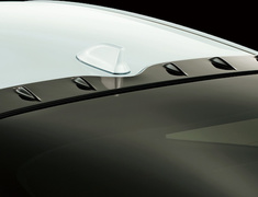 Prius PHV - ZVW52 - Roof Garnish - Construction: PPE - Colour: Glossy Black (202) - MS317-47001
