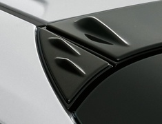 Prius PHV - ZVW52 - Roof Side Garnish - Construction: PPE - Colour: Glossy Black (202) - MS317-47002