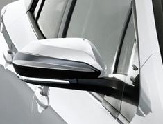 Prius PHV - ZVW52 - Aero Mirror Fins - Construction: ABS - Colour: Glossy Black (202) - MS329-47001