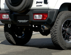 Jimny - JB64W - Pieces: 1 - Pipe Size: 45-50.8mm - Tail Size: 76.3mm - 241590-5500M
