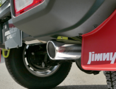 Jimny - JB64W - Pieces: 1 - Pipe Size: 45-50.8mm - Tail Size: 76.3mm - 241590-5600M