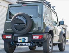 Jimny Sierra - JB74W - Pieces: 2 - Pipe Size: 50mm - Tail Size: 2x90mm - 10193801