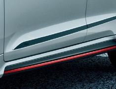 Corolla Touring - NRE210W - Side Skirts - Construction: PPE - Colour: Black Mica (209) C0 - Colour: Sparkling Black Pearl Crystal Shine (220) C1 - Colour: White Pearl Crystal Shine (070) A0 - MS344-12006-##