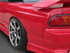 180SX - RS13 - Rear Fenders (+50mm) - Construction: FRP - Colour: Unpainted - GCOR-F180SXT1-RF