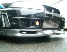 Skyline GT-R - BCNR33 - Lip Spoiler - Material: Carbon Plain Weave - Type: Type 1 - LS-CP-T1