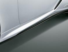 LC500 - URZ100 - Side Skirts - Construction: Resin(PPE) - Colour: Black (212) . . . C0 - Colour: Graphite Black Glass Flakes (223) . . . C2 - Colour: White Nova Glass Flake (083) . . . A1 - MS344-11001-##