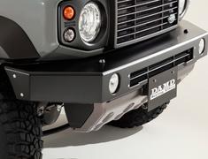 Jimny Sierra - JB74W - Front Bumper for SIERRA - Colour: Coarse Matte Black - DAMD-JSLD-FB