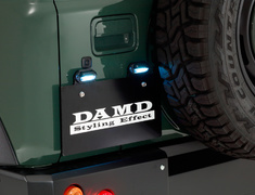 - License Plate Relocation Kit (for little D. bumper only)  - DAMD-JSLD-LPRK