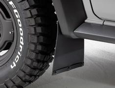 Jimny Sierra - JB74W - Mud Flap for SIERRA - Colour: Black - DAMD-JSLD-MF
