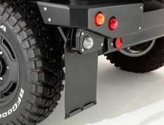 Jimny Sierra - JB74W - Mud Flap for SIERRA - Colour: Black - DAMD-JSLD-MF