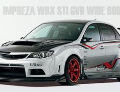 Varis - Subaru Impreza WRX STI GVB Wide Body Ver.