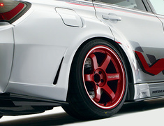 Impreza WRX STI - GVB - Rear Fender Kit - Construction: FRP - Colour: Unpainted - VASU-138