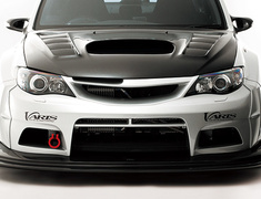 Impreza WRX STI - GVB - Front Bumper + Under Lip (for Wide Fender) - Construction: FRP(Bumper)/Carbon(Lip) - Colour: Unpainted - VASU-114