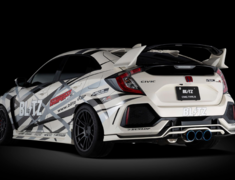 Civic Type R - FK8 - Pieces: 3 - Pipe Size: 70-2x60mm + 1x38mm - Tail Size: 2x114.3mm 1x101.6mm - 63174V