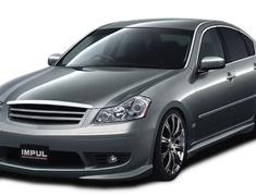 Fuga - Y50 - Front Bumper - Construction: FRP - Colour: Unpainted - IMP-650S-FB