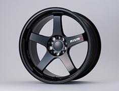 """- Colour: Exclusive Black - Size: 19"""" - Width: 10.5J - Hole: 5H-114.3 - Offset: +15 - Weight: 10.0kg - 4030S-RSR49-BK"""