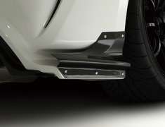 86 - ZN6 - Rear Bumper Option Part: Air Shroud (Left and Right Set) - Construction: Caarbon - VATO-054