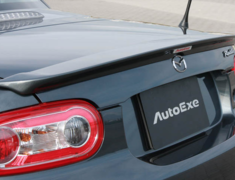 Roadster - NCEC - Rear Spoiler - Construction: FRP - Colour: Unpainted - MNC2610