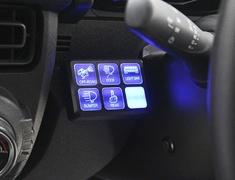 Jimny Sierra - JB74W - 6 Switch Relay Control Box - AIM-MT86SRCB-JB74W