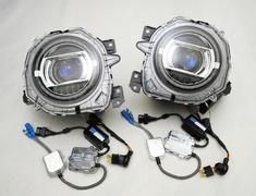 Jimny Sierra - JB74W - Squid Ring Headlights - AIM-MT8SRH-JB74W