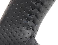 Jimny - JB64W - Type: Soft D Shape - Color: Gray Camouflage Print - Stitch: Black - SZB-GRT-BK