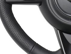 Jimny - JB64W - Type: Soft D Shape - Color: All Leather - Stitch: Black Euro - SZB-LPB-BK