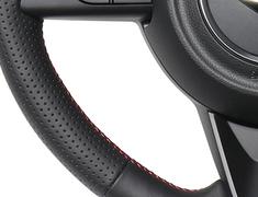 Jimny - JB64W - Type: Soft D Shape - Color: All Leather - Stitch: Red x Black Euro - SZB-LPB-RD