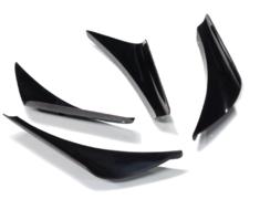 Front Twin Canards - Construction: FRP - Colour: Unpainted - 01010-FD2-MR04