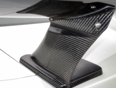 GT-R - R35 - Carbon Rear Wing - Construction: Carbon - KAN098