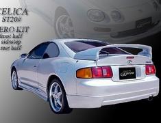 Celica GT-Four - ST205 - 3 Piece Set: Front Under Spoiler + Rear Under Spoiler + Side Steps - Construction: FRP - Colour: Unpainted - EUR-ST205E-3PS