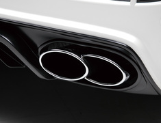 Land Cruiser - URJ202W - Exhaust Trim - WALD-URJ202LATE-ET