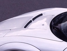 NSX - NA1 - Aero Duct Bonnet (with Radiator Carbon Duct) - Construction: FRP/Carbon - Colour: Unpainted - GM-0110