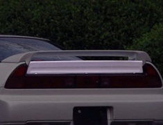 NSX - NA1 - Rear Wicket Spoiler - Construction: FRP - Colour: Unpainted - GM-0108