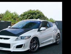 CR-Z - ZF1 - Lightweight Bonnet (Normal Shape) - Construction: Carbon (Plain Weave) - FEELS-APZF-LBNCP